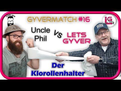 Gyvermatch #16 | Der Klorollenhalter | Toilettenpapierhalter |