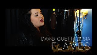 David Guetta & Sia   Flames (Arianna Palazzetti COVER)