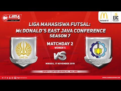 Women's Unesa vs ITS LIMA Futsal: McDonald's EJC Season 7