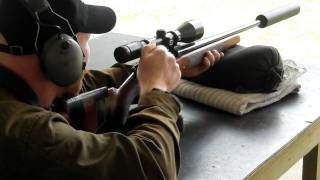 Shooting a Tikka LSA 30-06 from the bench