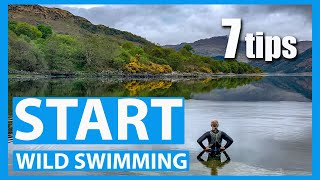 Start wild swimming | 7 tips and advice for beginners open water swimming