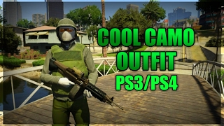 GTA 5 Online Cool Camo Outfit Tutorial