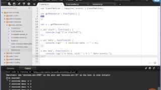 EventEmitters in Node.js