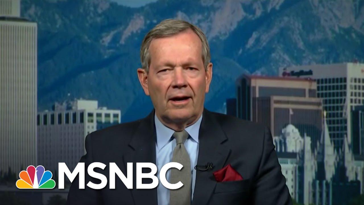 Utah Governor: Donald Trump Has A Problem In Utah | MSNBC thumbnail