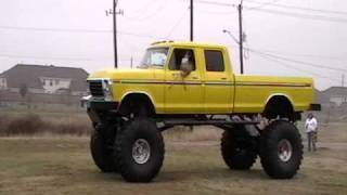 Ford Truck LIFTED TO THE SKY