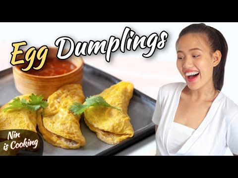 YUMMY EGG DUMPLINGS - AN EASY RECIPE - WITH NIN