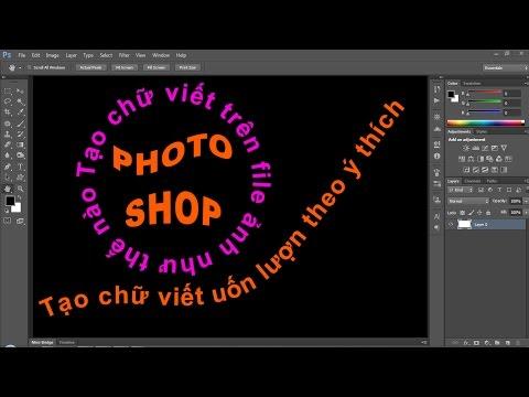 Photoshop CS6:Tạo chữ trên ảnh với Type Tool [Beginner]