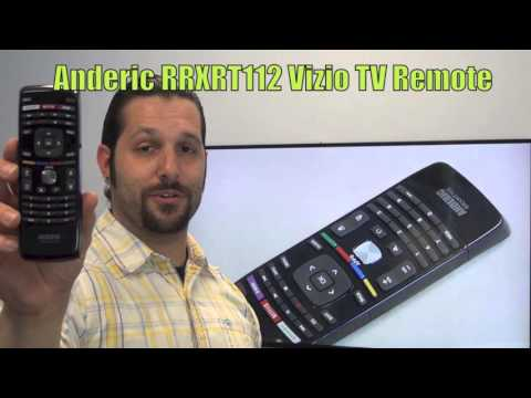 ANDERIC RRXRT112 for Vizio TV Remote Control