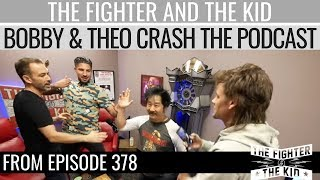 Gambar cover Bobby Lee and Theo Von Crash The Fighter and The Kid