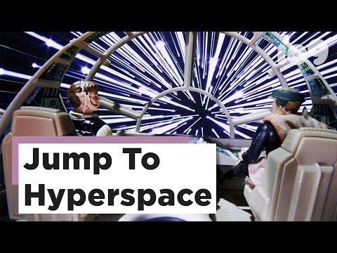 Watch Star Wars' Classic Hyperspace Jump Recreated Using Fiber-Optics and Poster Board