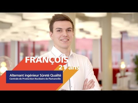Video #AlternanceEDF - Découvrez François, alternant Ingénieur en Sûreté et Qualité
