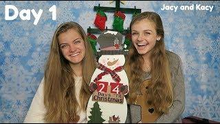 Christmas Countdown 2018 ~ Day 1 ~ Jacy and Kacy