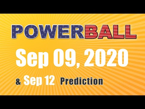 Winning numbers prediction for 2020-09-12|U.S. Powerball