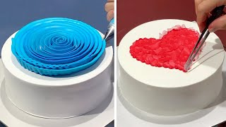 3 Fun & Creative Heart Cake Decorating Ideas For Lover   Most Satisfying Chocolate Cake Tutorials