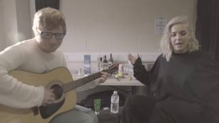 AnneMarie and tourmate Ed Sheeran put an acoustic spin on her dance tune Ciao Adios 3