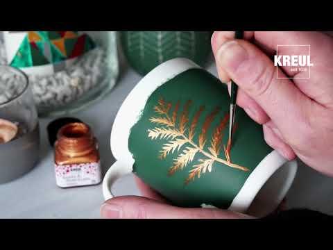 Das wird ein Fest - Mit KREUL Glass & Porcelain Farben
