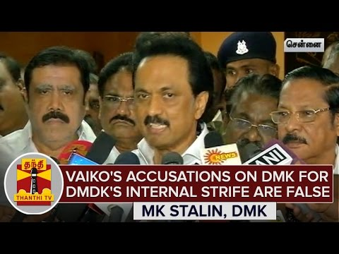 Vaikos-Accusations-on-DMK-for-DMDKs-Internal-Strife-are-Baseless--MK-Stalin
