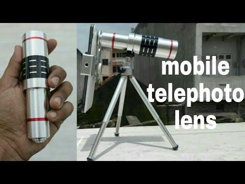 18m mobile camera lens | mobile telephoto lens unbox and review | huge mobile lange hindi/urdu