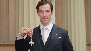 Бенедикт Камбербэтч, Sherlock Holmes actor, Benedict Cumberbatch, receives CBE