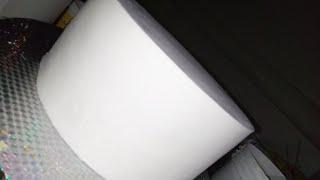 How To Make Bridal Shower Cake Part1(sharp Edge Techniques)