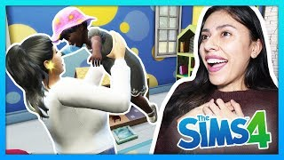 WE ADOPTED OUR FIRST BABY! - The Sims 4 - My Sims Life - Ep 36
