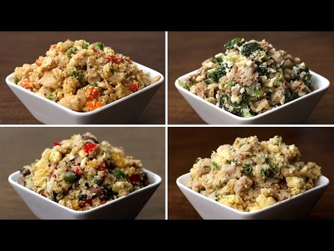 Video Cauliflower Fried Rice 4 Ways