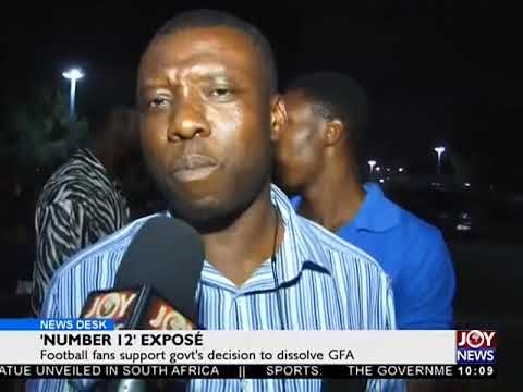 Football Fans on Support Government's Decision - News Desk on Joy News (8-6-18)