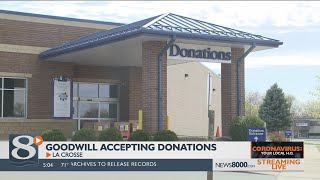 Goodwill reopening donation drop-off locations