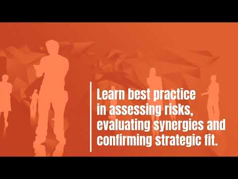 Merger Training - M&A Due Diligence Training Course - YouTube