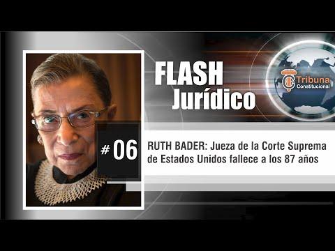 RUTH BADER GINSBURG (RBG) Jueza Suprema de los EEUU muere a los 87 años - Flash Jurídico # 6