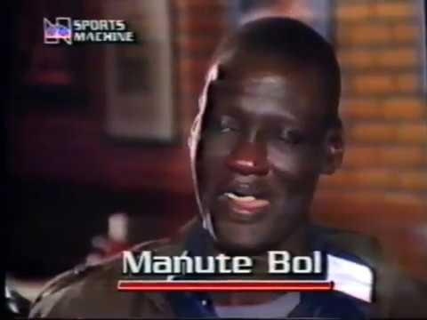 Manute Bol & Spud Webb (RARE 1986 NBA INTERVIEWS)