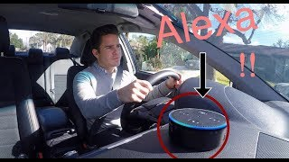 Reacting To Ellens Previews The New Alexa Backseat Driver