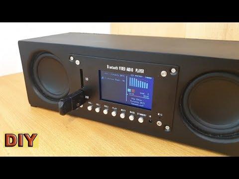 DIY: Portable Mp3/Mp4 Bluetooth Speaker