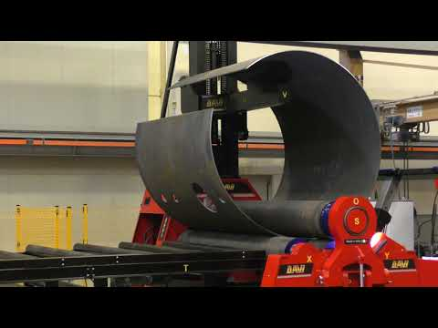 Zakružovačka plechu MCB s podpěrami