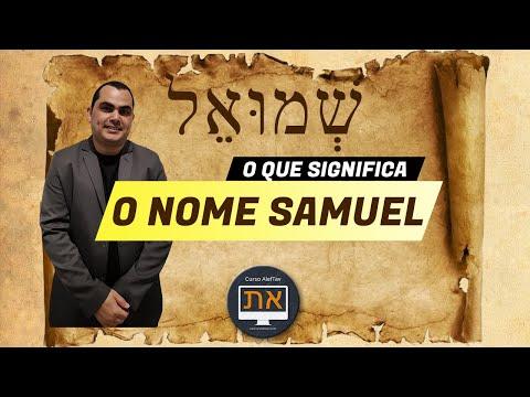 [INCRVEL] O que significa SAMUEL em HEBRAICO