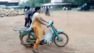 8 Test Training For 2 Wheeler Driving, Kerala, India.