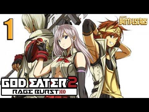 God Eater 2 : Rage Burst Playstation 4