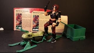 HCC788 - 1984 ZARTAN and CHAMELEON Swamp Skier - G. I. Joe toy review! HD