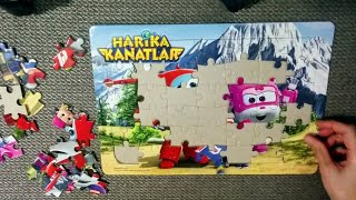 Gambar cover Super Wings Puzzle; Jett and Dizzy