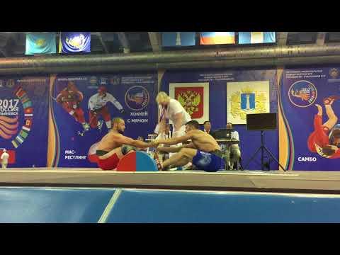 Бижоев Алим (Россия) vs Агаев Султан (Азербайджан) Финал чемпионата СНГ 2017г
