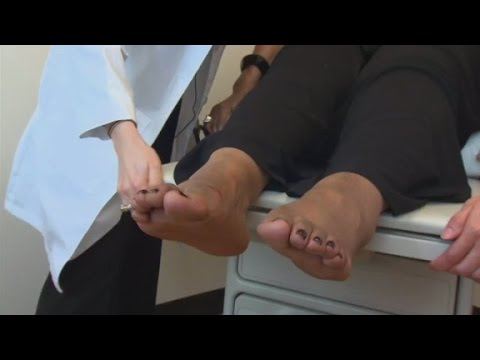 Ein Bluttest für Zucker kann aus einer Vene entnommen werden