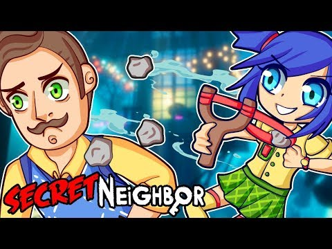 Don't fall for his tricks in Secret Neighbor! (Funny Moments)