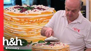 Pastel Con Tocino Y Pimienta   Cake Boss   Discovery H&H