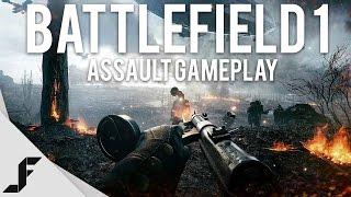 BATTLEFIELD 1 ASSAULT GAMEPLAY - Insane Graphics!
