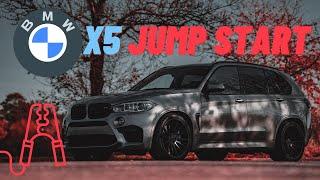 ▶️BMW X5 How to Jump Start a 2007 2008 2009 2010 2011 2012 ▶️w/ Helpful  Tips