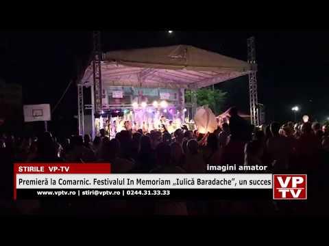 """Premieră la Comarnic. Festivalul In Memoriam """"Iulică Baradache"""", un succes"""