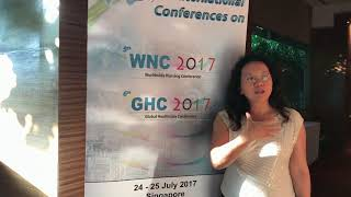 Dr King Chung at WNC Conference 2017 by GSTF