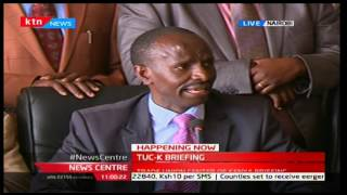 Wilson Sossion: KNUT are the only ones who have managed to sign the CBA agreement