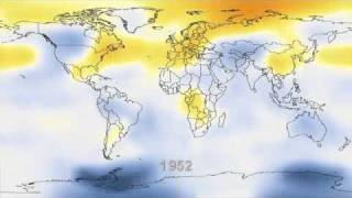 Climate Change Visualization from 1880 to 2010 by NASA