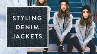 How I Style | Denim Jackets